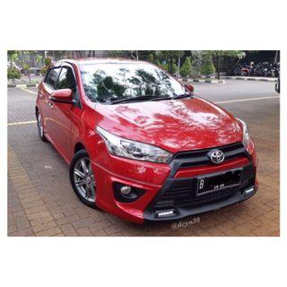 💋 Toyota Yaris 1.5 S TRD Sportivo A/T Red 2015