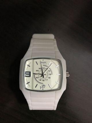 Polo Club Britannia White Watch