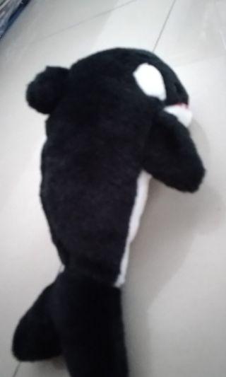 虎鯨絨毛玩偶