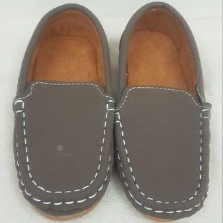 二手韓國製兒童豆豆鞋/寶寶鞋/學步鞋/嬰兒鞋/童鞋(16公分)