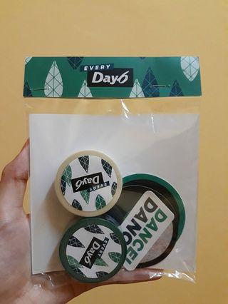 Every Day6 concert in May : Masking Tape Set