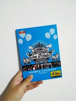 ORIGINAL ALBUM SMTOWN Live In Paris (Free Merchandise SJ / EXO / GG)