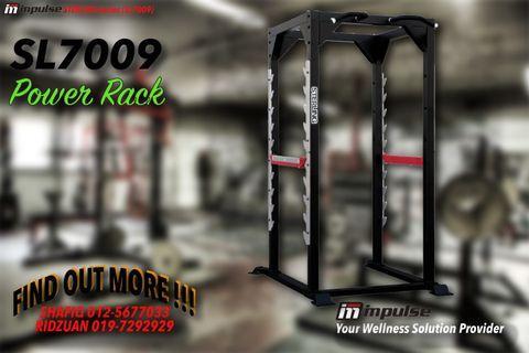 Gym Equipment IMPULSE SL7009 Power Rack