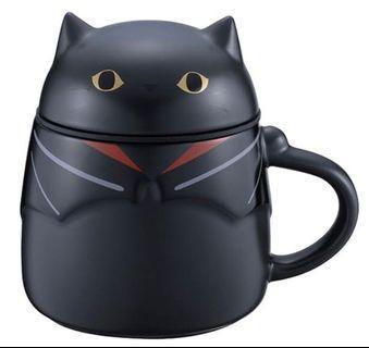 [星巴克]黑貓變裝騎士馬克杯
