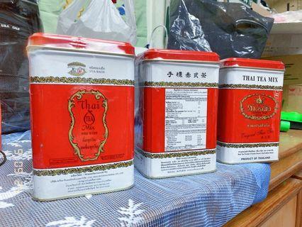 手標牌紅茶(泰奶)罐
