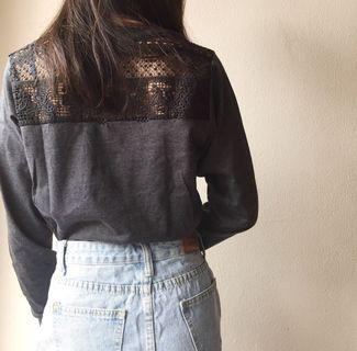 Factorie lace sweater