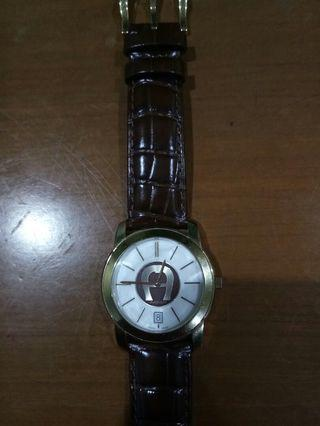 Jam Tangan Aigner Milano A14100 Stainless Steel Swiss Made Water Resistant