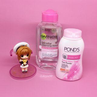 💋 POND'S BB Powder & GARNIER Micellar Water