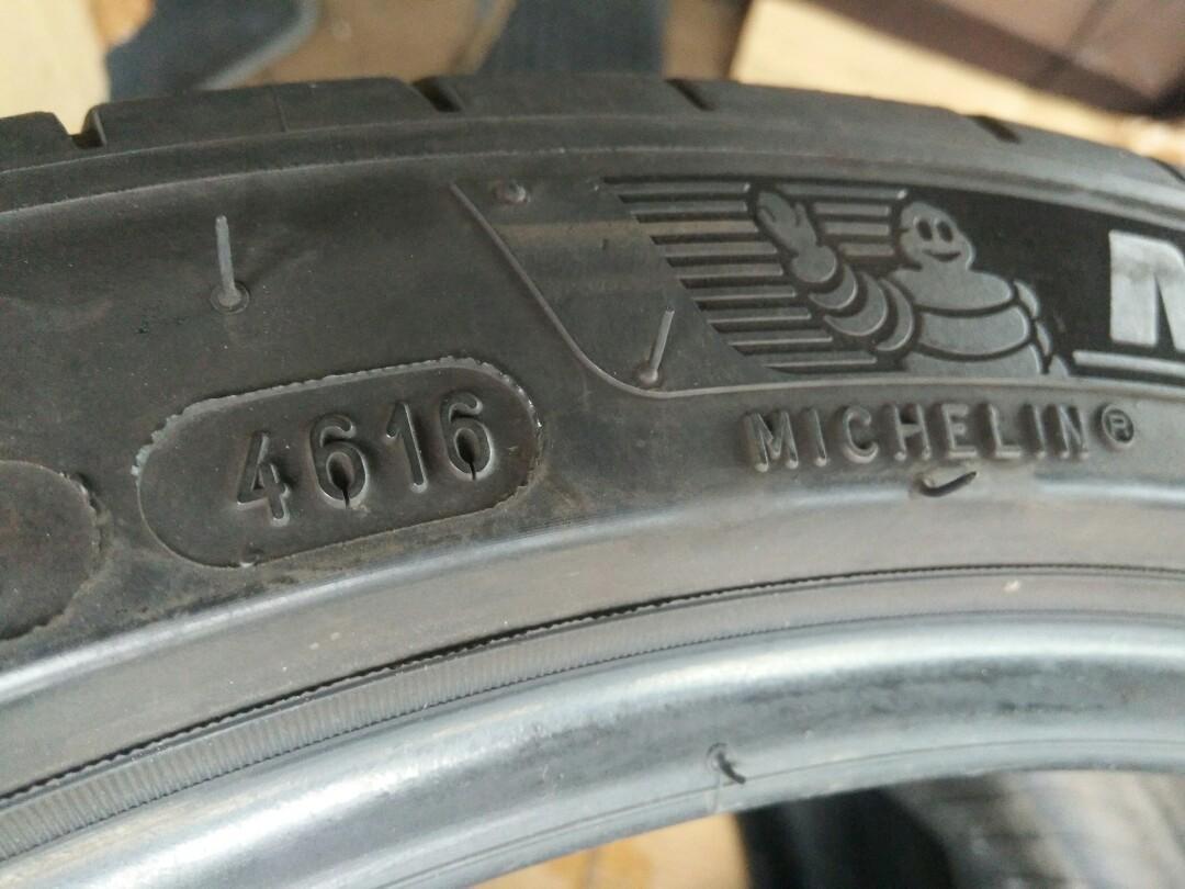 255 35 18 Michelin ps4 rm98 sebiji