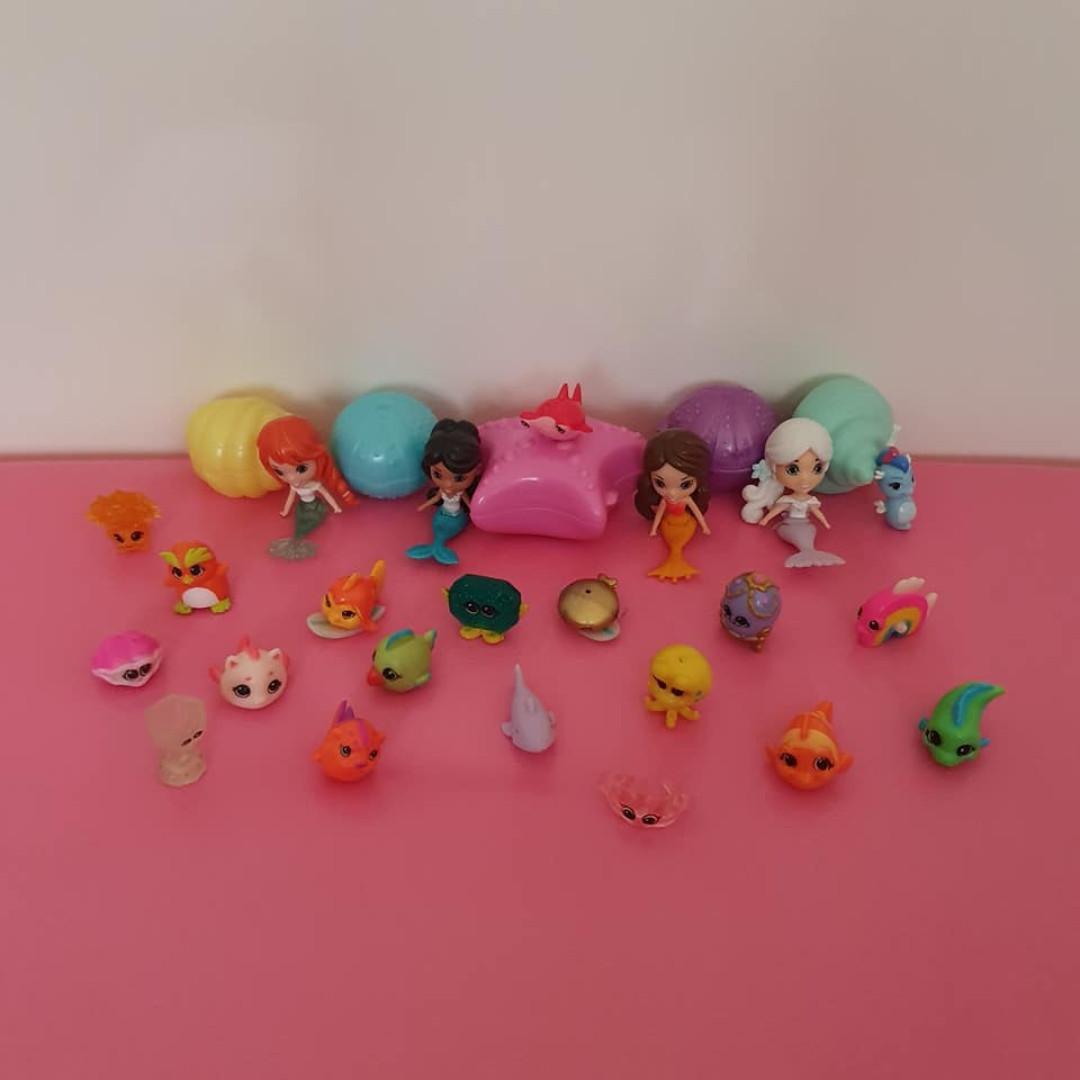 30 Splashings Mermaids Shells Sea Creature friends