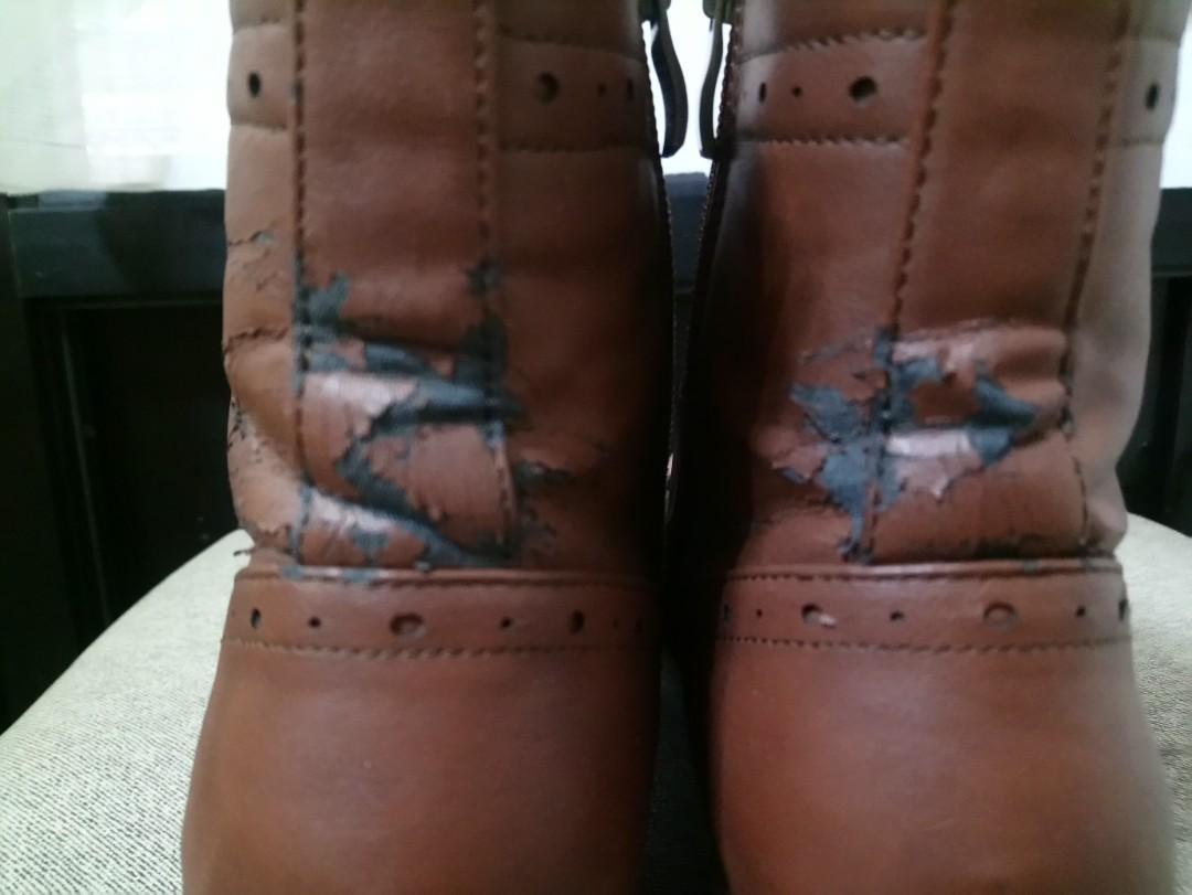 二手短靴  二手鞋(XL號)