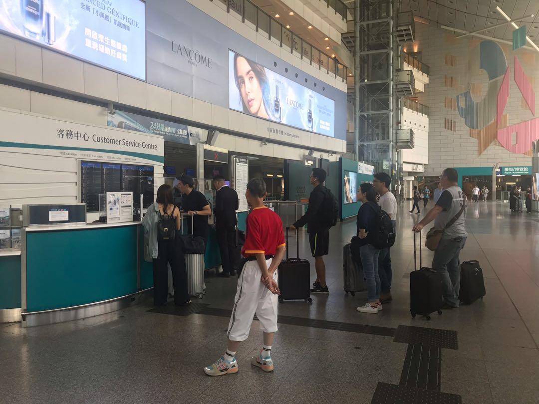 特惠機場快線車票銷售員