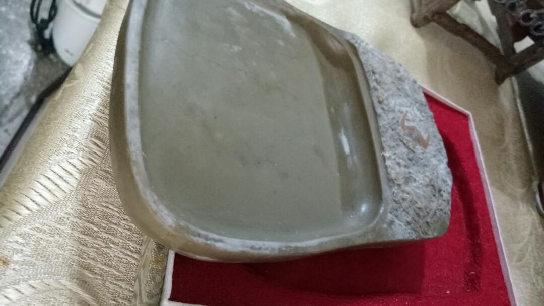 蝙蝠石(多福石)硯台