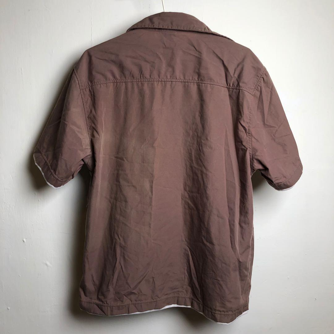 假兩件式襯衫