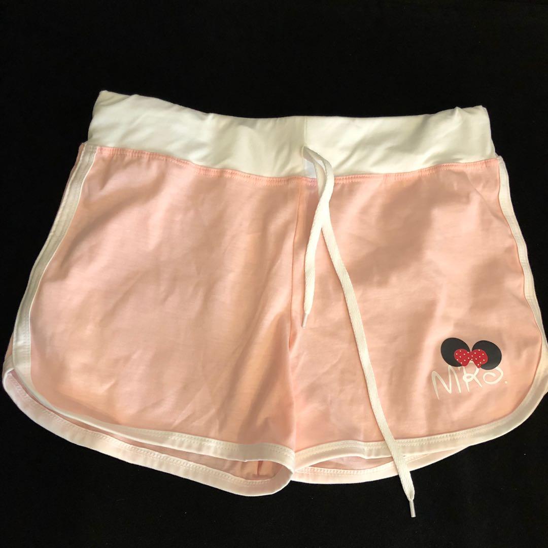 全新 粉色運動短褲