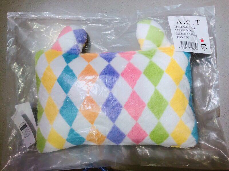 宇宙人 小丑兔兔小抱枕 全新 日本帶回