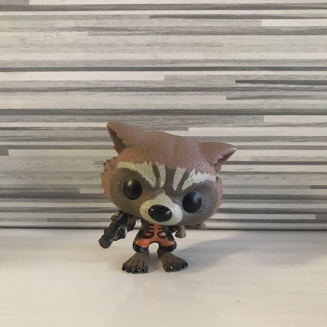 [ FREE POST ] Funko Pop Rocket Racoon Guardians Of The Galaxy / The Avengers
