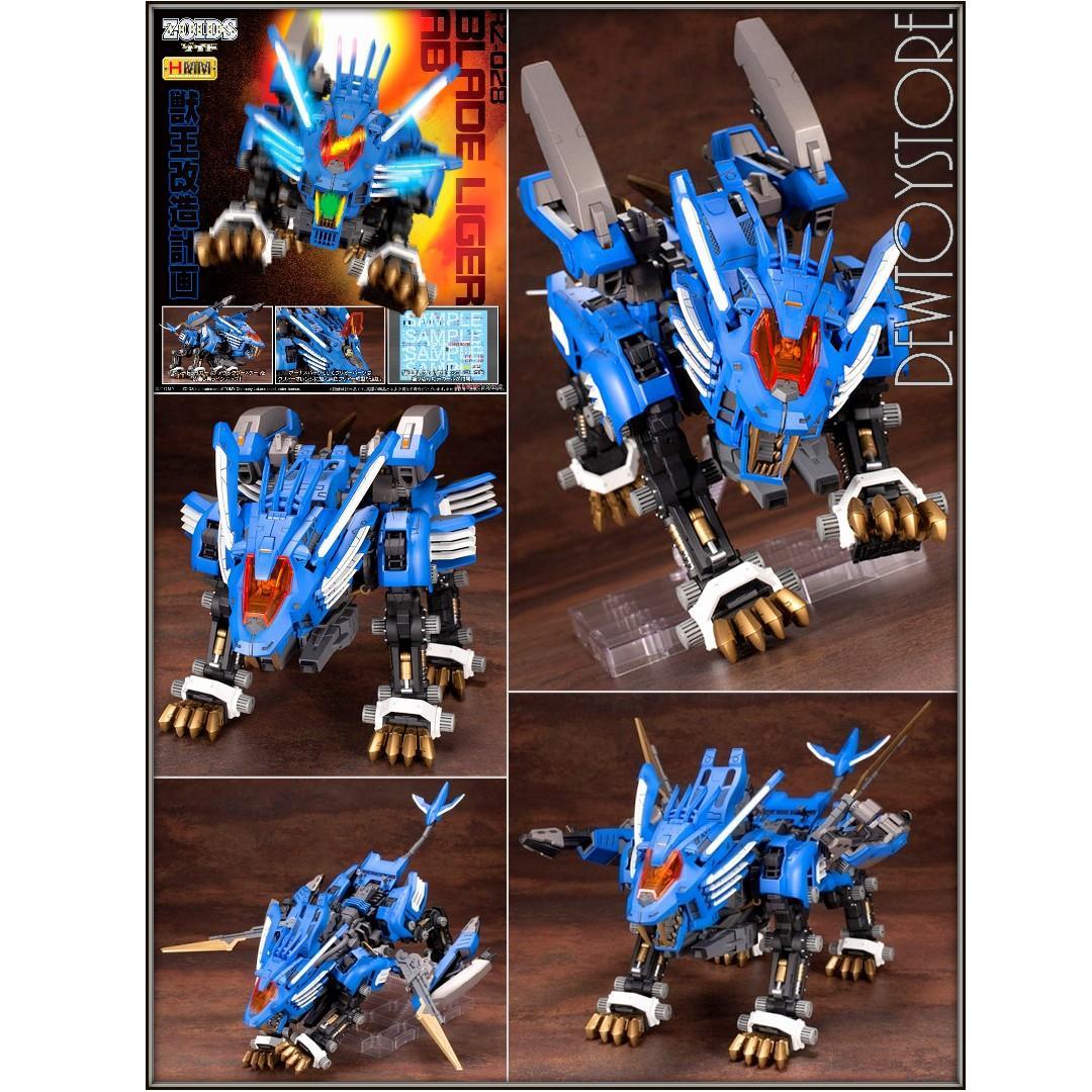 ⭐️ [Pre-order] Kotobukiya Zoids HMM Series Model Kit - RZ-028 Blade Liger AB ⭐️