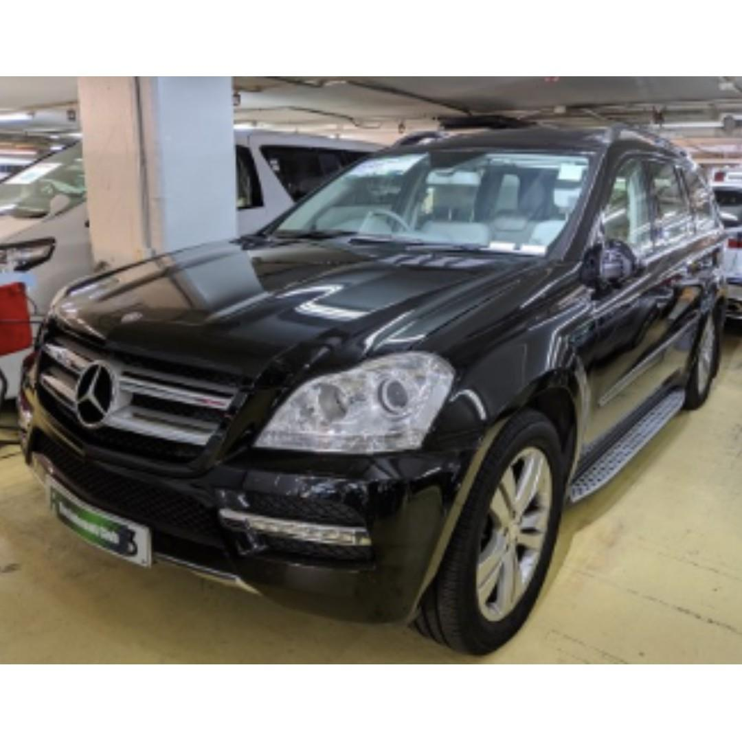 2010 MERCEDES-BENZ GL500