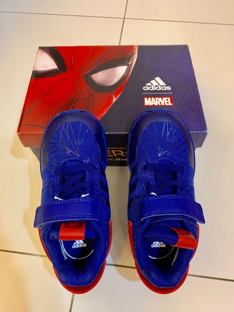 Adidas Spiderman shoes (brand new