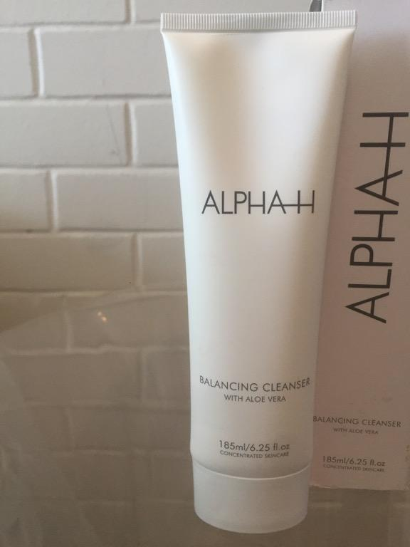 alpha h skincare Balancing Cleanser With Aloe Vera New 185ml Skincare Beauty