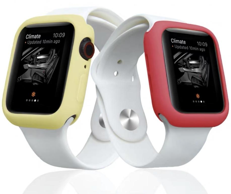Apple Watch Bumper Silicone Protector Case Cover for All Series and Sizes