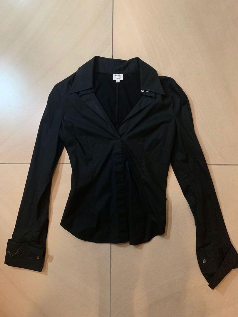 Armani Black Long Sleeve
