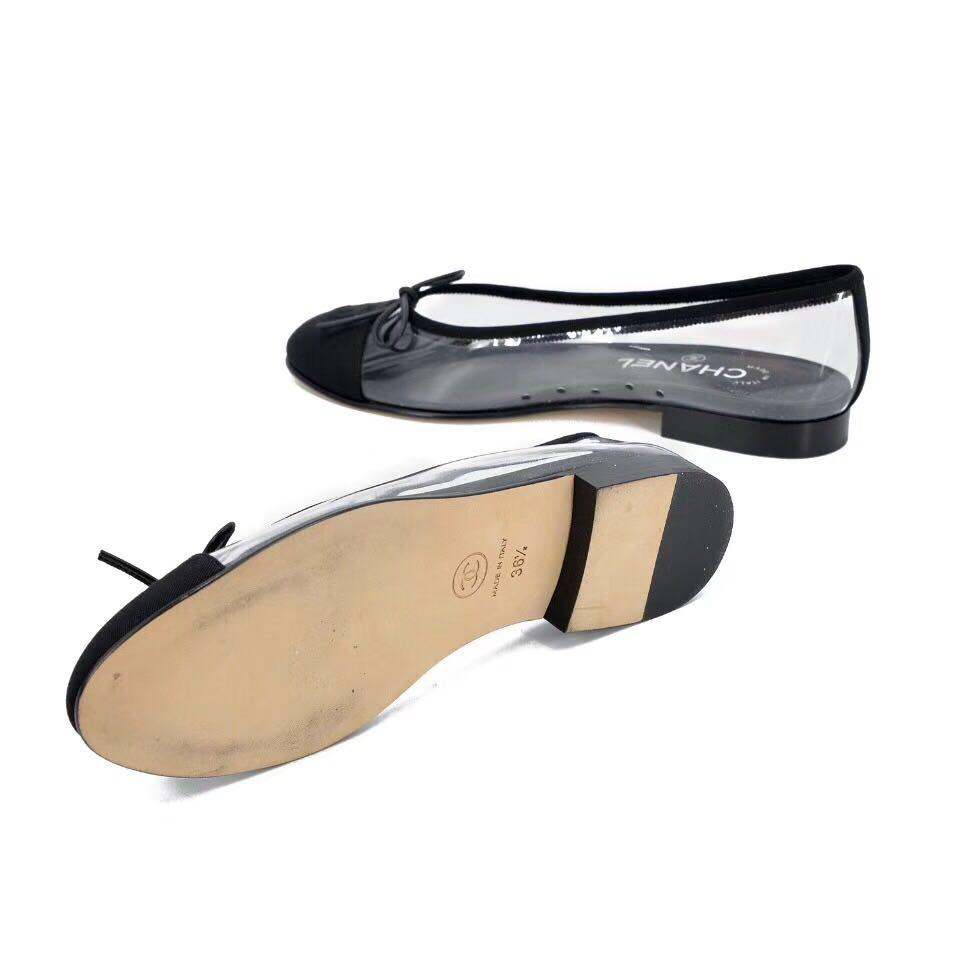 Authentic Pre-loved Chanel Ballerina Flats 36.5