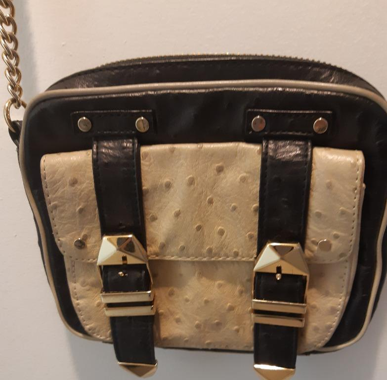 AUTHENTIC REBECCA MINKOFF CROSSBODY SHOULDER BAY EUC