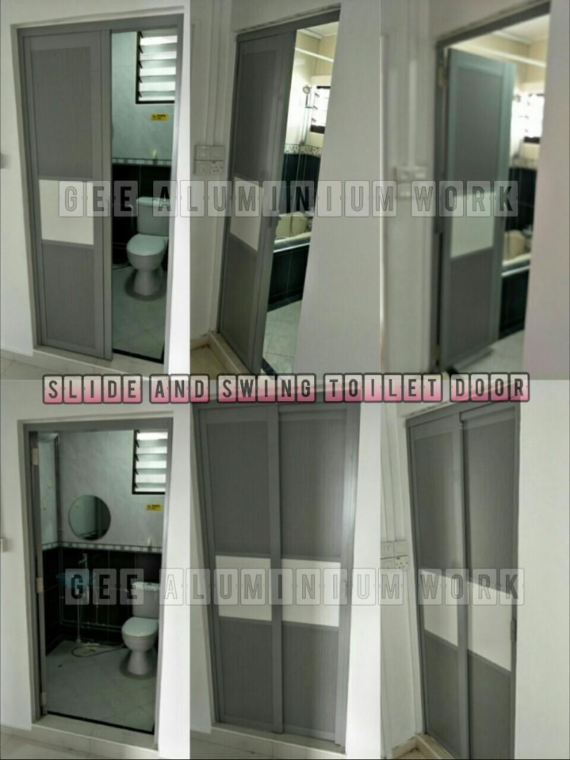 Toilet/Store Room Slide and Swing Door