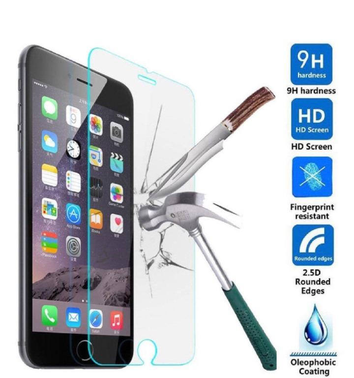 BEST OFFER!! Apple iPhone 9H Clear Tempered Glass Screen Protector for All Models