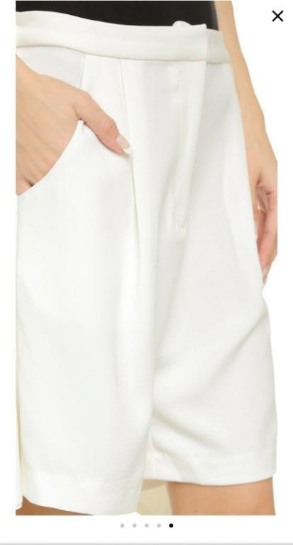 BNWT C/Meo Collective Hands On Shorts White Size S RRP $245