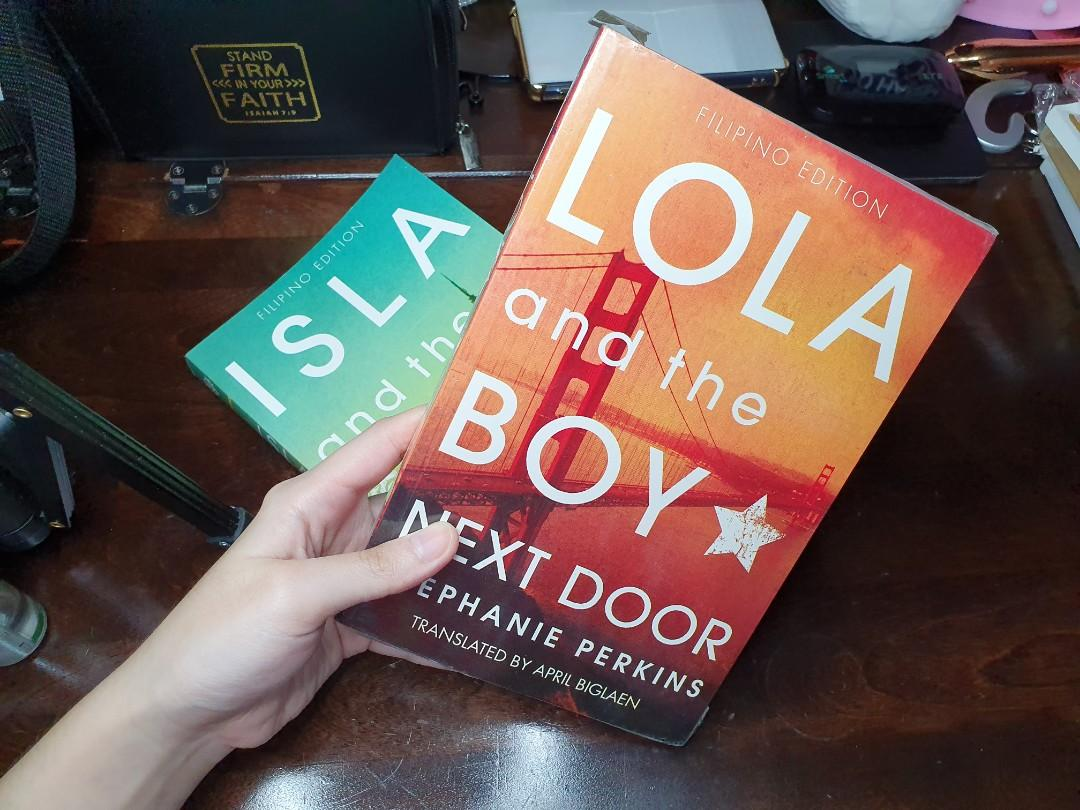 """brand new/soft bound/sealed&not sealed """"Anna and the french kiss"""" """"Lola and the boy next door"""" """"Isla and the happily ever after"""" Author: Stephanie Perkins Filipino Edition"""