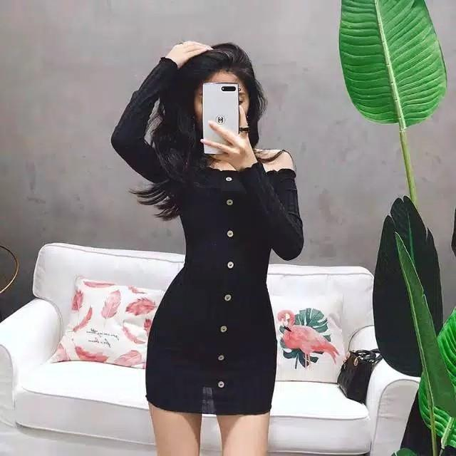 Button Dress