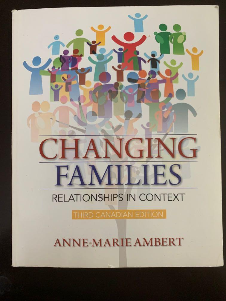 Changing Families Third Canadian Edition by Anne-Marie Albert