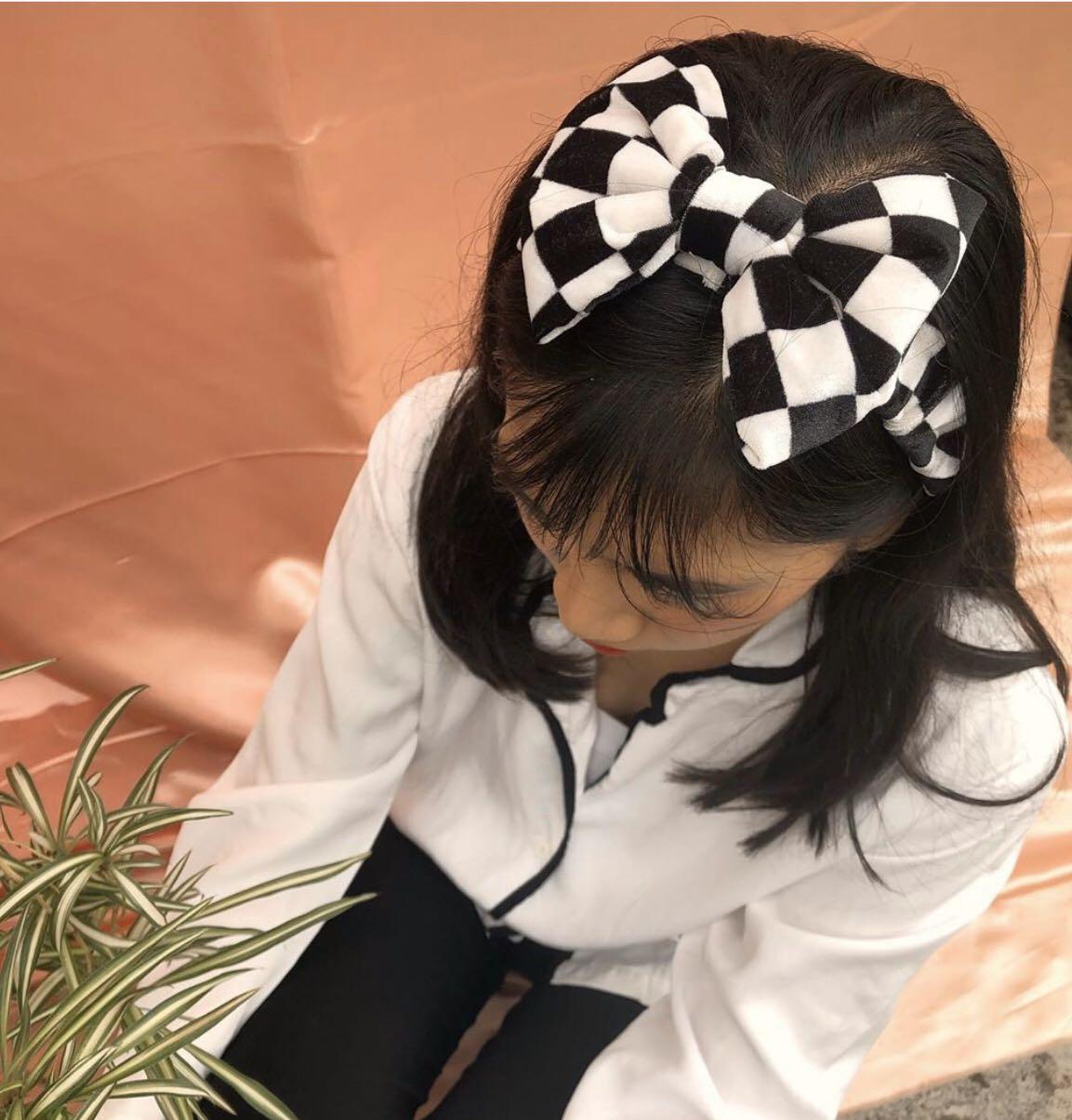 Checkered Headpiece