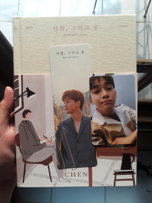 [Free Ongkir] Chen EXO Album - April and a Flower (Flower Version)
