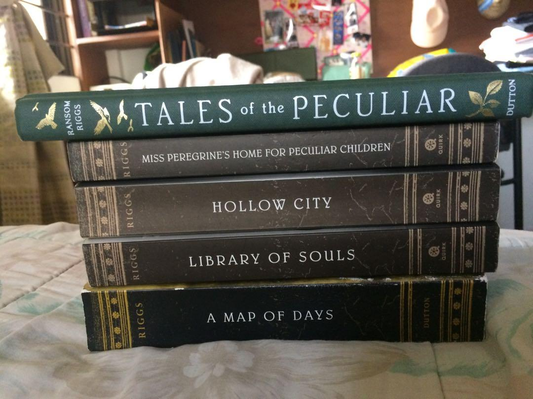 Complete set of Ransom Riggs Miss Peregrine's  Home of Peculiar Children Series