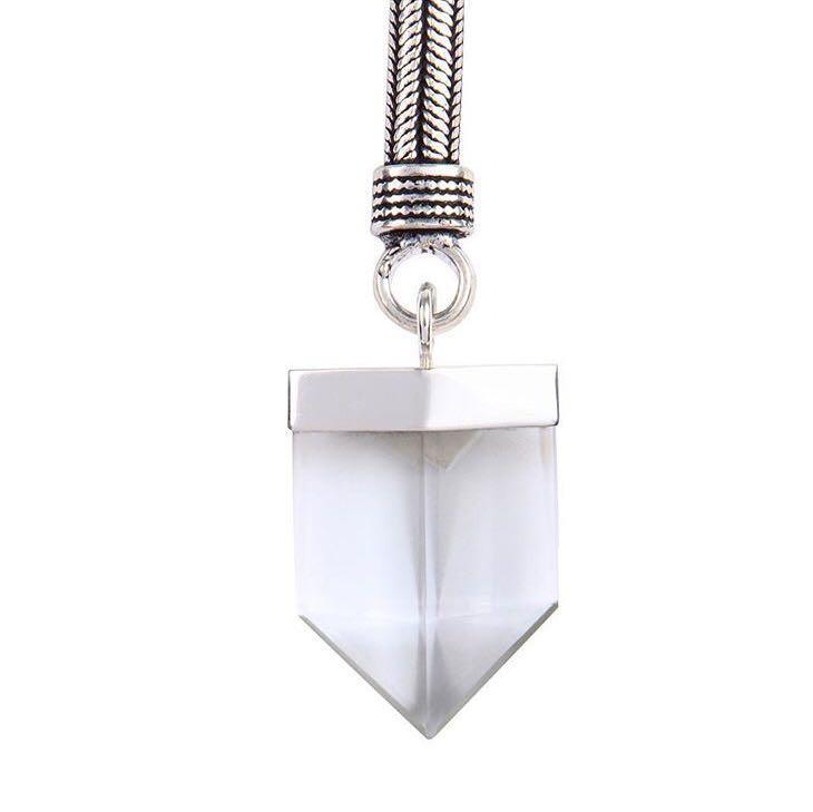 Designer Crystal Quartz Necklace -by designer Kyoti