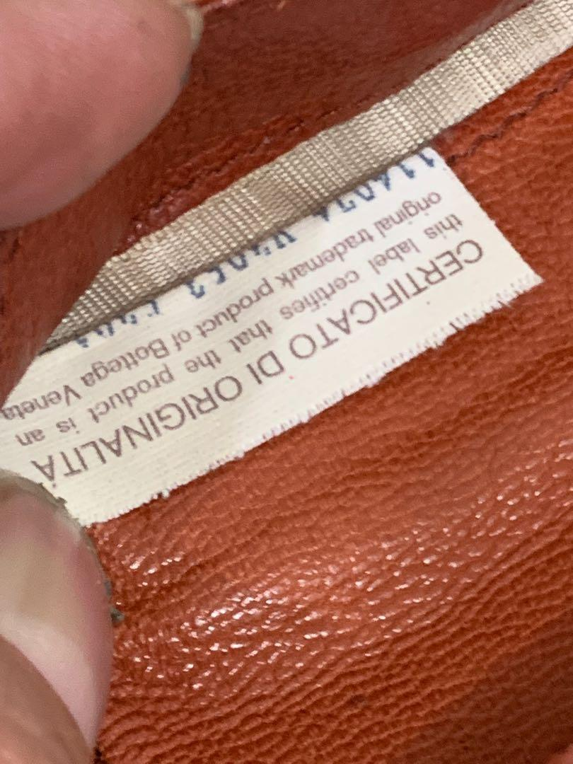 Dompet Bottega veneta full leather authentic 17 cm unisex 80% OK, sisanya pemakaian