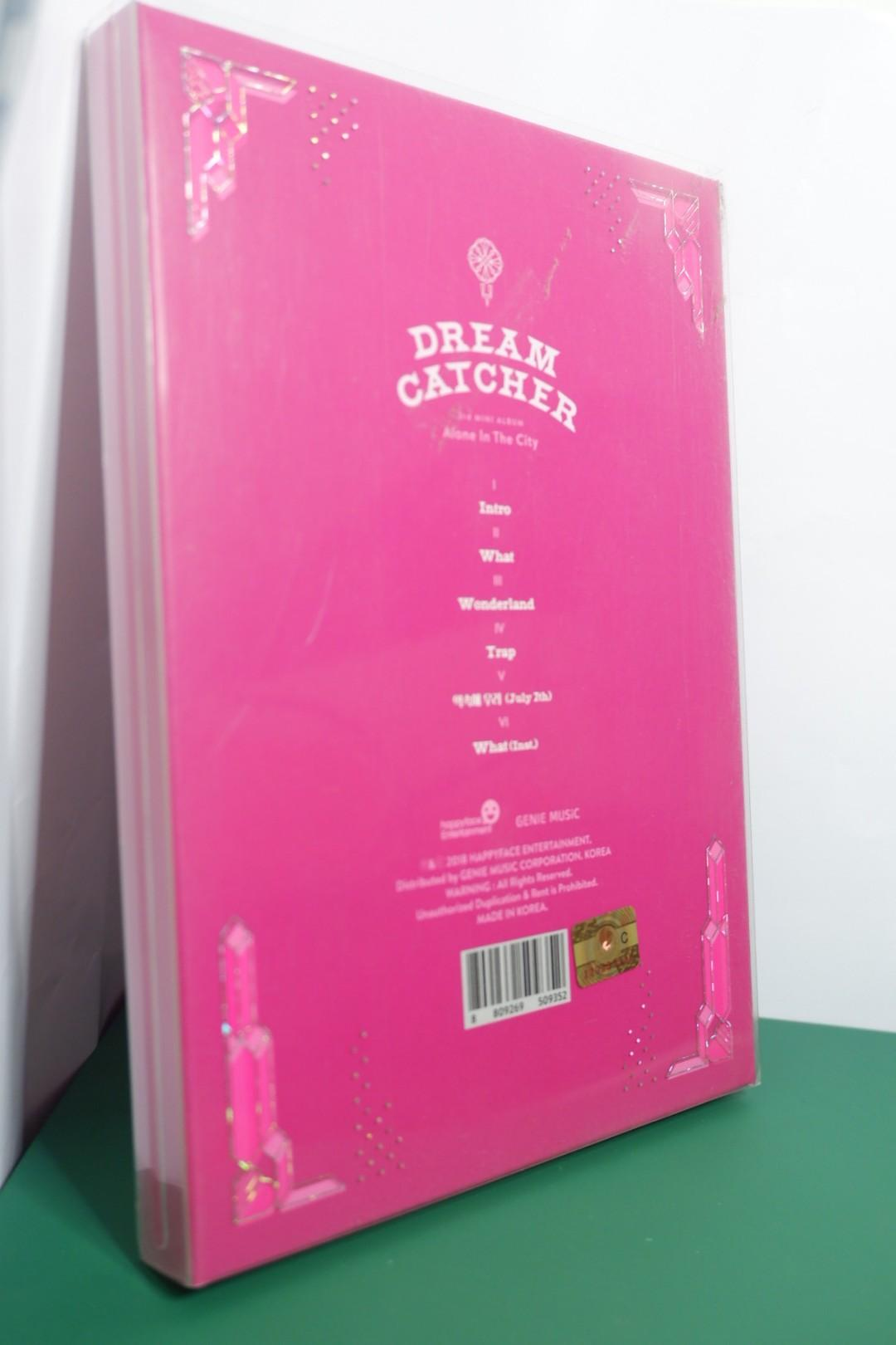 DREAMCATCHER 'ALONE IN THE CITY' LIGHT VERSION (ALBUM ONLY)