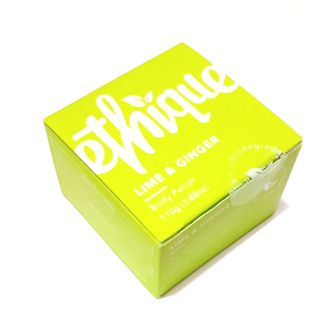 Ethique All Skin Types Lime & Ginger Body Polish  & Scrub Bar