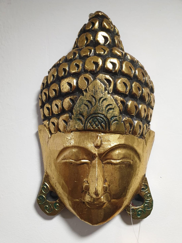 Gold Buddha Mask