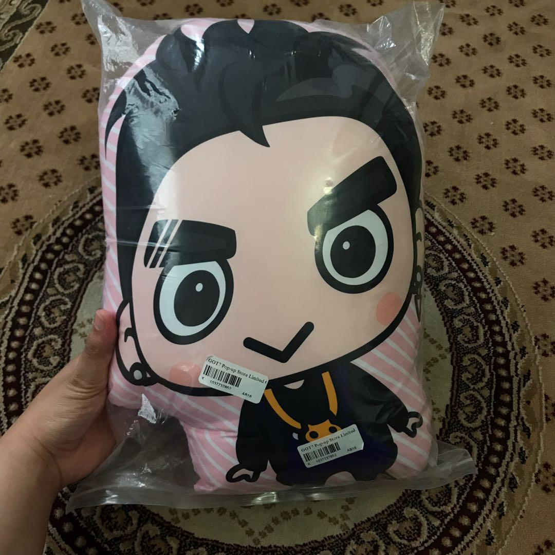 GOT7 GOT 7 Jackson Cushion LOTTE Pop Up Store Official Goods