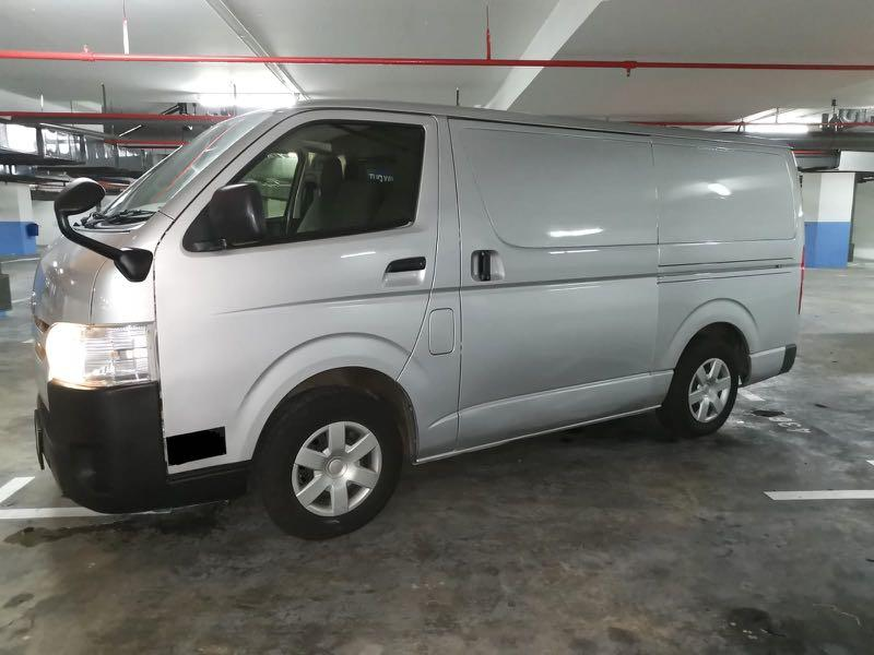 HIACE FOR 3 MONTHS RENTAL @ $1,400 MONTHLY. CALL 9299 4404 NOW!!