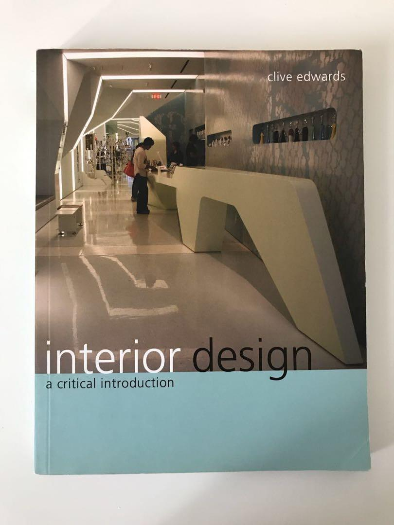 Interior Design A Critical Introduction - Clive Edwards