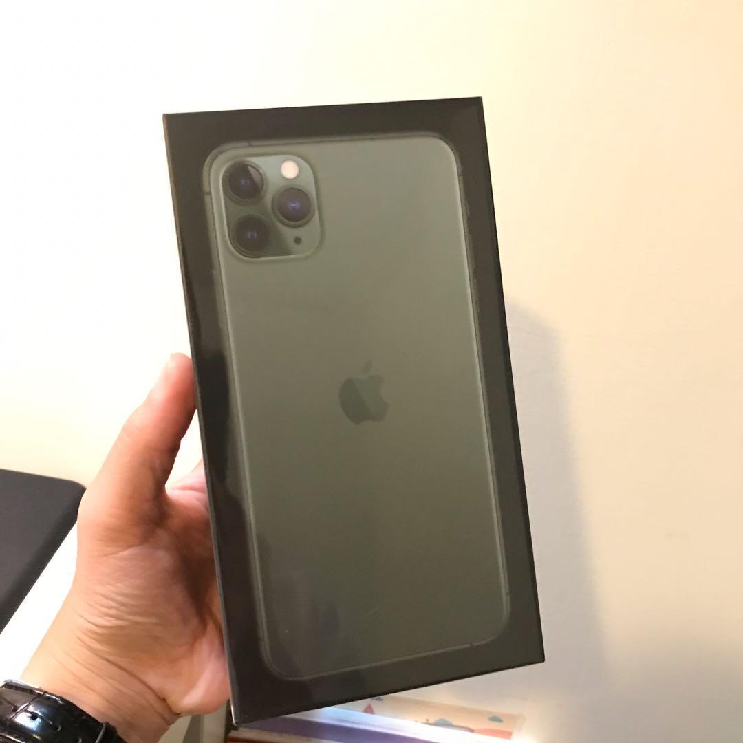 iPhone 11 Pro Max 256 夜幕綠