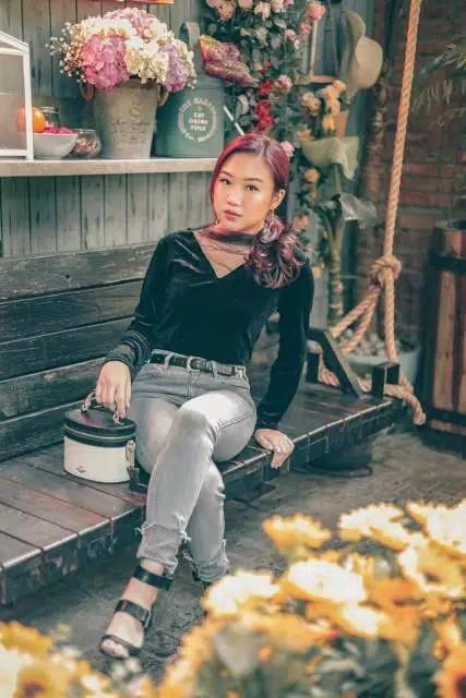 Julia Velvet Top