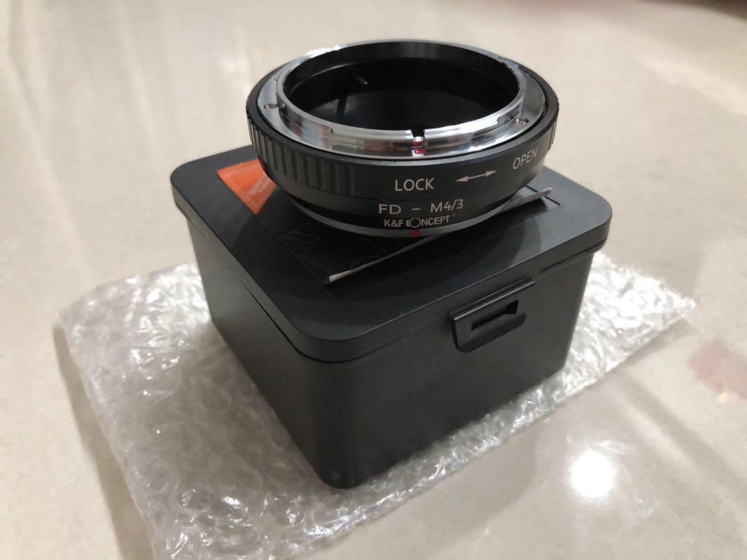 K&F Concept Canon FD Lenses to M43 MFT Mount  Adapter