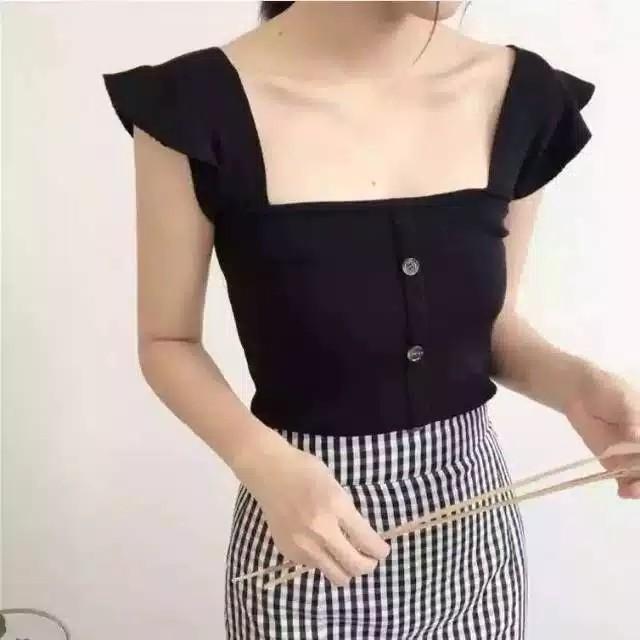Knitwear Short Tops